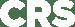 crs logo white